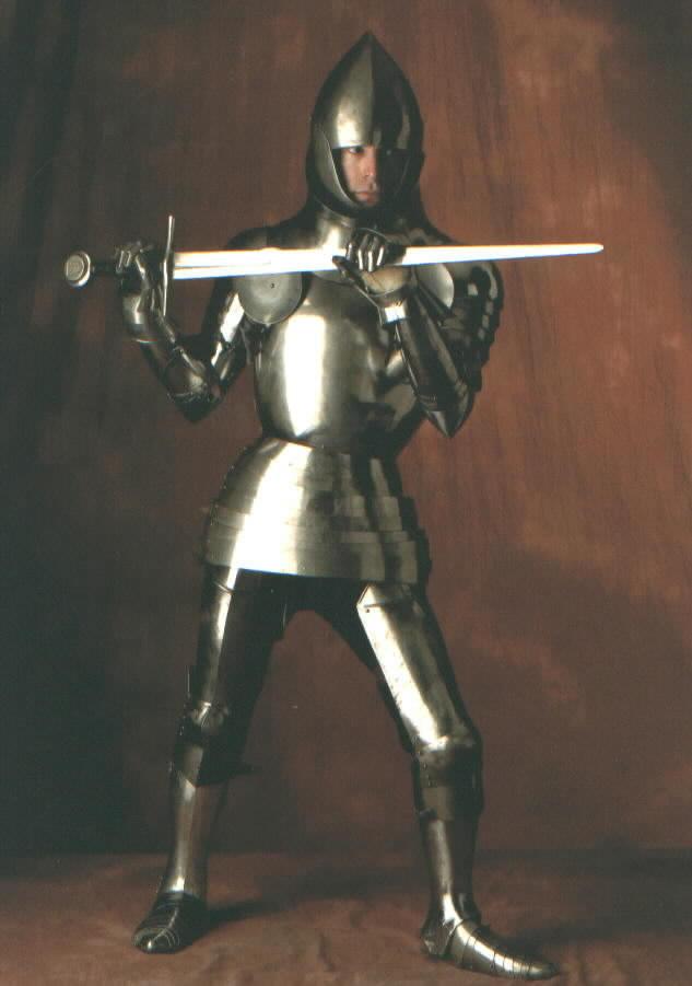 James Arlen Gillaspie - Artist, Metalsmith, Medieval Armour