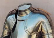 16th Century Pauldrons and Gorget