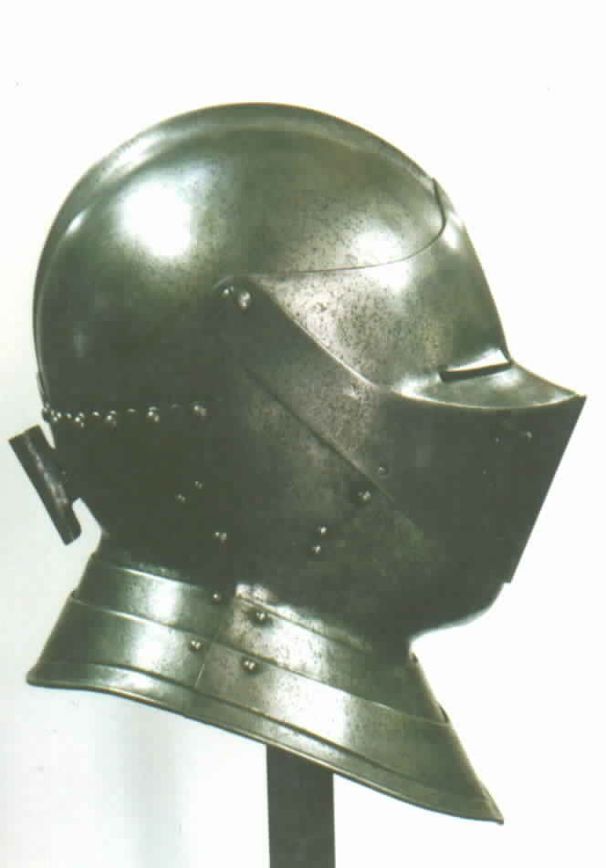 16th. Century Close Helm