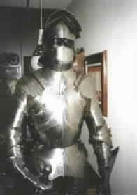 Lexus german gothic armor knight suit breasplate