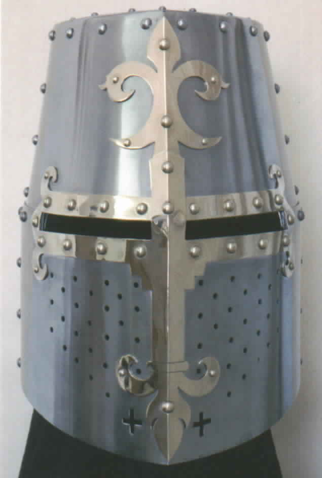 Medieval Great Helm Late Crusader c. 1300